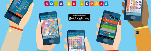 Sopa de letras, Android, Word search game